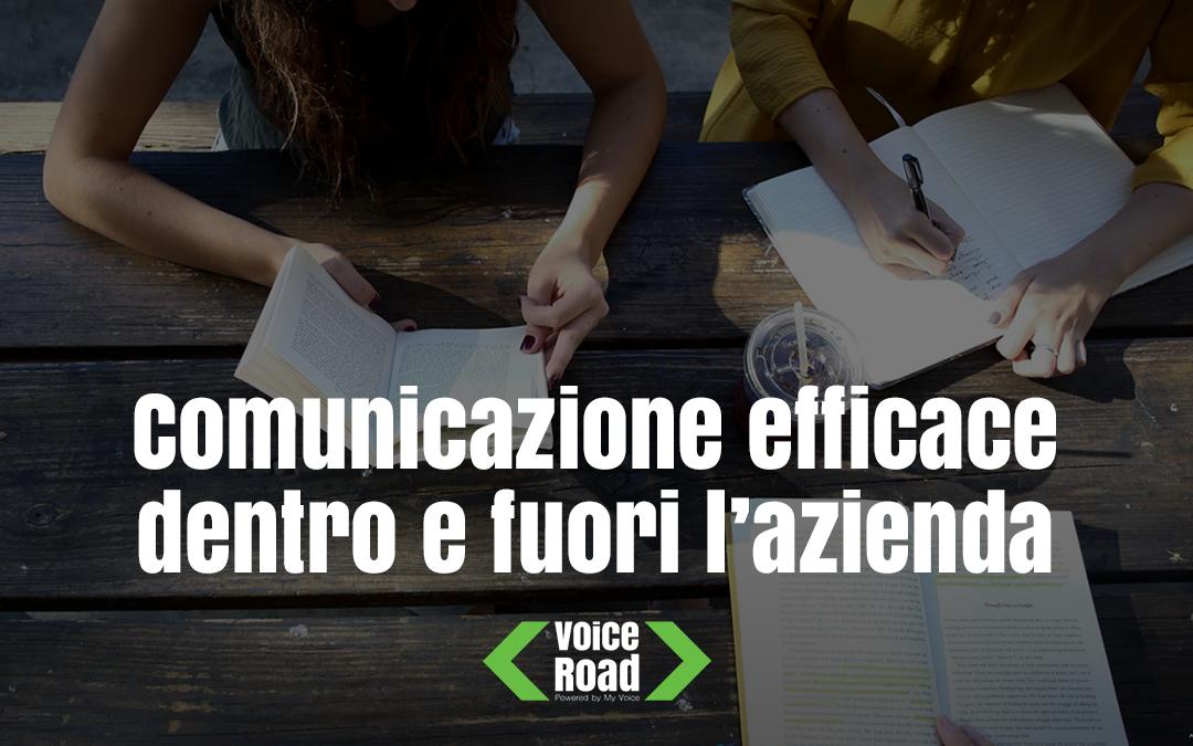 Comunicazione efficace dentro e fuori l'azienda